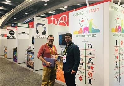 L'Italia di nuovo alla Game Developers Conference (GDC).